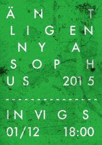 Invigning Sophus 2015